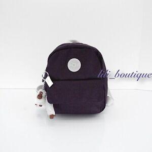 NWT Kipling KI1061 Rosalind Small Backpack Shoulder Bag Polyester Misty Purple