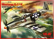 P-51 K MUSTANG (LEONARD CARSON & WILLIAM T. BANKS USAAF ACES MKGS) 1/48 ICM