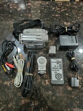Panasonic PV-GS65 Silver 3-CCD MiniDV 10x Optical Zoom Camcorder W/ Charger