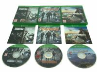 Tom Clancy Xbox One Bundle Ghost Recon Wildlands Rainbow Six Siege The Division