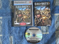 PS2 : CALL OF DUTY 3 III - Completo, ITA !