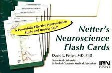NEW Netter's Neuroscience Flash Cards David L Felten 2005 Study Review Elsevier