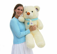 "Joyfay® Big 39"" 100cm White Giant Teddy Bear Stuffed Plush Toy Birthday Gift"