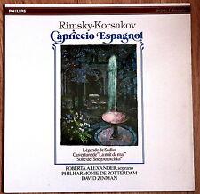 Philips Digital RIMSKY-KORSAKOV Capriccio Espagnol Snegourotcha ZINMAN/ALEXANDER