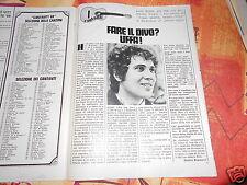 RIVISTA FUMETTO VITT  NR 31  1969  LUCIO BATTISTI  GIOCO DELLA  FIAT  128