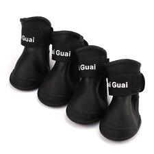Botas Para Perro Zapatos Candy Colores Resistente Al Agua Goma