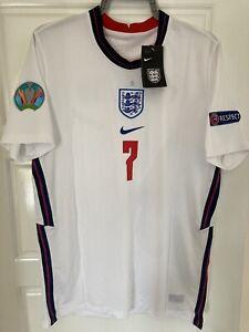EURO 2020/2021 ENGLAND HOME FOOTBALL SHIRT NIKE DRI-FIT REPLICA