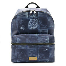LOUIS VUITTON Discovery Backpack PM Rucksack SHW N50060 Damier Salt Canvas Navy