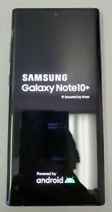 Unlocked Samsung Galaxy Note 10+ Plus SM-N975U 512GB Black (Read Description)