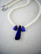 Boulder Opal Kette Schmuck Halskette Perlen Anhänger Silber