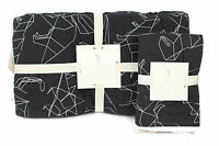 New pottery barn kids boys Braden Dino stitched quilt quilted sham set TWIN nwt