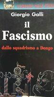 Il fascismo dallo squadrismo a Dongo