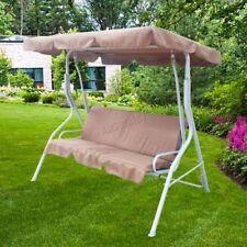 Muebles de terraza y jardín color principal marrón de metal