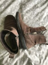 Timberland Smartwool Brown Suede Ladies Boots UK Size 7 Comfort