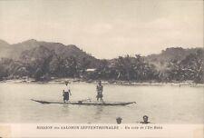 Solomon Islands Buka Island view 1910s PC