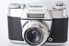 RARE! Voigtlander Bessamatic w/ Color-Skopar 50mm F2.8 lens from Japan m043