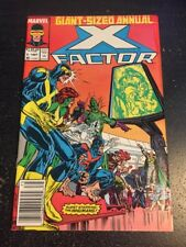 X-factor Annual#2 Incredible Condition 9.0(1987) Inhumans App!!