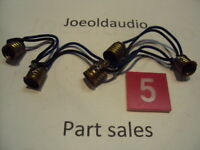 JVC VT-700 Tuner Original Dial Scale Lamp Sockets. Parting Out JVC VT-700.