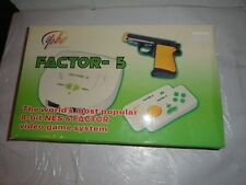 New Yobo G Factor 5 System 8-bit NES Game Player w/ Light Gun & 2 Controllers