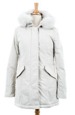 Woolrich John Rich & Bros. Women's Luxury Arctic Parka Fox White Size S WW2132