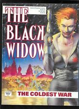 Marvel Graphic Novel The Black Widow The Coldest War 1990 fine - very fine