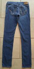 Women's HOLLISTER jeans Social Stretch Sz 1R (x 30.5 inseam)