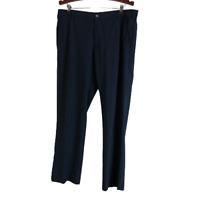 Adidas Mens Tan Navy Blue Pants Size 38 / 32