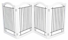 Internet's Best Wire Dog Gate with Arched Top - 4 Panel - 30 Inch Tall Pet Puppy