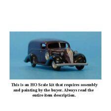 "HO SCALE: 1937 HUDSON TERRAPLANE ""BIG BOY"" PANEL TRUCK - SYLVAN KIT V-052"