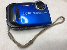 Fujifilm FinePix XP80 Waterproof Digital Camera - blue