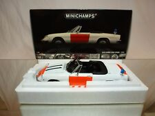 MINICHAMPS ALFA ROMEO 2000 SPIDER 1970 - RIJKSPOLITIE 1:18 - EXCELLENT IN BOX