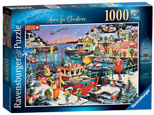 13991 Ravensburger Home For Christmas! Jigsaw Puzzle Limited Edition 2019 1000pc