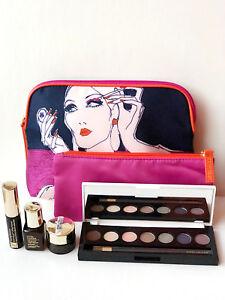 Estee Lauder 6pc Set Lot Serum EyeShadow Lipstick Cleanser Mask Gift Under $40!
