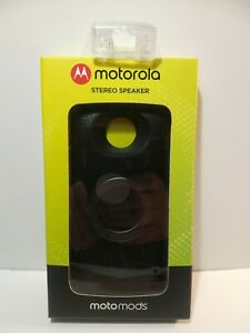 Brand New w/Factory Sealed MOTO SPEAKER MOTOMODS STEREO MOTOROLA Z2 Z3 Z4