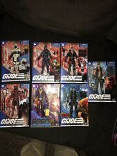 g.i. joe classified Lot Of 7 Beach Head Red Ninja Arctic Storm Shadow And More