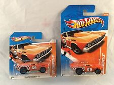 Hot Wheels Track Stars '69 Chevelle 11/15 - Short and Long Card versions