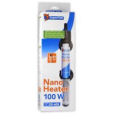 SuperFish Nano 100W Heater - Tropical Aquarium Mini Fish Tank Heating Thermostat