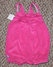 New! Baby Girls Ralph Lauren POLO Outfit (Sun Suit; Romper; Pink!) - Size 9 mo