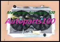 For HOLDEN Kingswood Radiator&Fan HQ HJ HX HZ V8 308 253 350 Chev eng MT 3Row