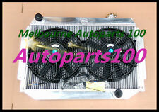 For HOLDEN Kingswood Radiator&Fan HQ HJ HX HZ V8 308 253 350 Chev eng MT 3Row