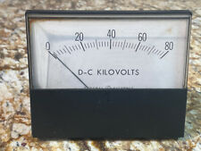 Ge Dc Kilovolts Panel Meter. 178-400-Fafa.
