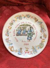 Flawless Stunning England Wedgewood Beatrix Potter Peter Rabbit 1984 Plate