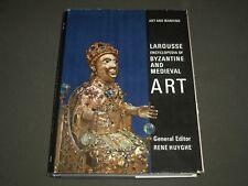 1963 LAROUSSE ENCYCLOPEDIA OF BYZANTINE AND MEDIEVAL ART BOOK - I 1323