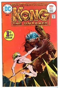 Kong The Untamed #1, Fine - Very Fine Condition
