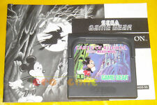 CASTLE OF ILLUSION (leggere dentro) Game Gear Topolino »»»»» CARTUCCIA/MANUALE