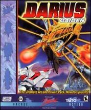 Darius Gaiden PC CD defend planet invasion attack ship lasers missiles bomb game