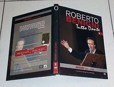 Dvd Roberto Benigni TUTTO DANTE 2 INFERNO Canto Secondo La Divina Commedia 2008