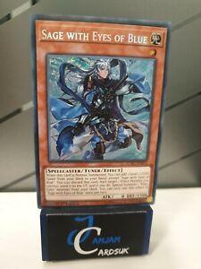Sage with Eyes of Blue LCKC-EN015 / BLLR-EN055 Secret Rare VLP Condition 1st Ed