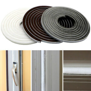 Self-Adhesive Door Sound Insulation Strip Firm Sealing Draught Excluder Brush