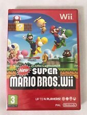 Nintendo Wii Super Mario Bros. (2009), Brand New & Factory Sealed